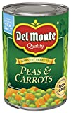 Del Monte Harvest Selects Canned Peas and Carrots, 14.5 Ounce (Pack of 12)
