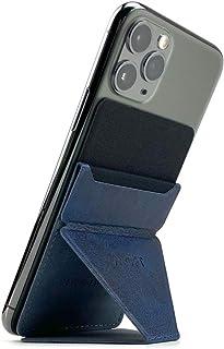MOFT X 最薄クラス iPhone Android スマホスタンド スマホホルダー スキミング防止カードケース (ネイビー)