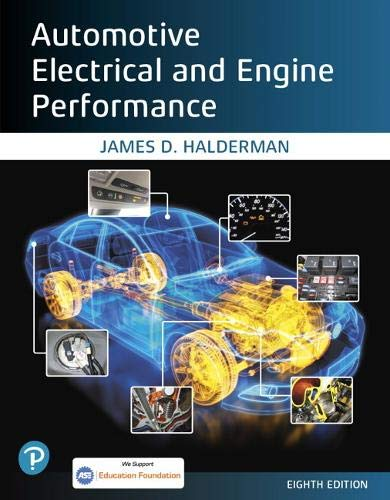 Compare Textbook Prices for Automotive Electrical and Engine Performance Halderman Automotive Series 8 Edition ISBN 9780135224809 by Halderman, James