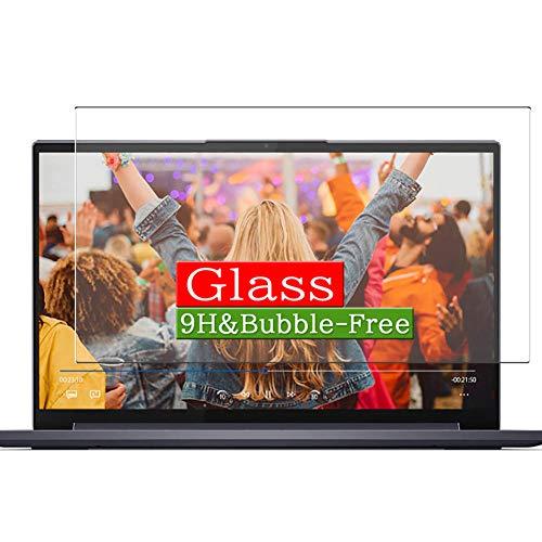 VacFun Vidrio Templado Protector de Pantalla Compatible con Lenovo Yoga Slim 750i 15 15.6' Visible Area, 9H Cristal Screen Protector(cobertura no completa)