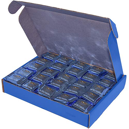 175 Count Ghirardelli Dark Chocolate Sea Salt Caramel Square Candy, 13x10x2 Blue Box