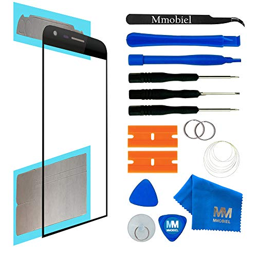 MMOBIEL Front Glass Compatible with LG G5 (Black) Display Touchscreen incl Tool Kit