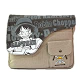 Anime Theme Shoulder bags One Piece Cross body Handbags Messenger bags ipad book bags(One piece)