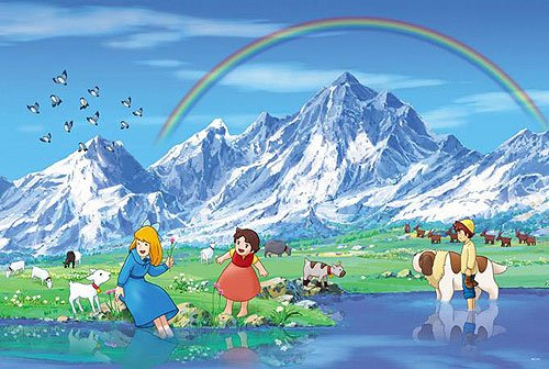 Girl of the Alps Heidi Special Place Jigsaw Puzzle 108pcs (18.2 x 25.7cm) JAPAN Import