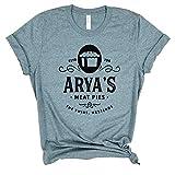 Arya's Meat Pie - Game of Thrones shirt, Targaryen Stark '20, inspired by Game of Thrones shirt, unisex shirt, Targaryen Stark 2020 Election Funny Got.