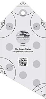 Creative Grids Angle Finder - Binding Tool and Quilting Ruler Template CGRAF