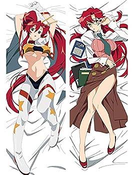 Anime Pillowcase Tengen Toppa Gurren Lagann Character Sexy Girl Yoko Otaku Dakimakura Throw Pillow Cover Hugging Body Pillowcase Case Cushion for Bed Home Decor 20  X 54