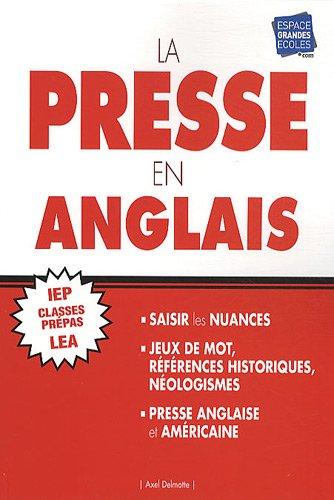 La presse en anglais