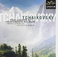 Tchaikovsky - piano concerto N?1, Violin concerto in D Maggiore by A. Gavrilov (1999-04-20)
