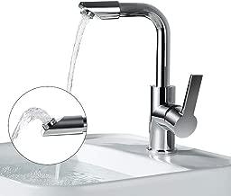 ristorante /& hotel dispositivo girevole del filtro da acqua del filtro dalla doccia del filtro girevole del rubinetto per la casa Rubinetto di risparmio dellacqua della cucina mobile 3 modi di ade