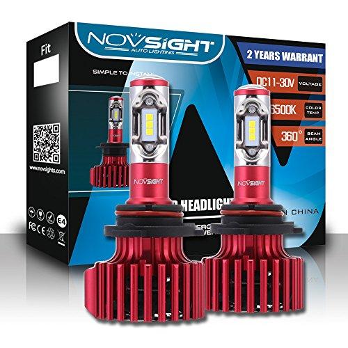 LED Phare Ampoules Tout-En-Un Kit De Conversio - Ampoules Réglables-Faisceau - 9005/9006/9007 / D1, Puces Extrêmement Brillantes CSP 60W 10000Lm - IP65 Blanc Lumineux 6500K Imperméable,9006