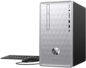 2019 HP Pavilion 590 Desktop Computer/ 8th Gen Intel Hexa-Core i5-8400 up to 4.0GHz/ 32GB DDR4 RAM/ 1TB HDD + 256GB SSD/DVDRW/GeForce GTX 1050 2GB/ AC WiFi/Bluetooth 4.2/ Windows 10