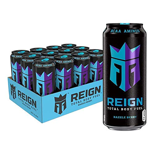 Bebida energética Reign de Monster, pack de 12, sabores a elegir, 500 ml, manzana ácida