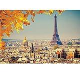 Puzzle 1000 Teile Erwachsene Holzpuzzle Eiffelturm Klassische Puzzles Landschaft Erwachsenenpuzzle...
