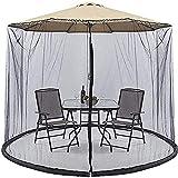 KDOAE Mosquito de Sombrilla de jardín Jardín Parasol Net Parasol Garden Umbrella Tabla MOSQ-UITO Net Cubierta DE Pantalla DE Pantalon para Acampar en el Jardín al Aire Libre