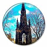 Regno Unito Inghilterra Scott Monument Edimburgo Magnete del frigorifero Magneti decorativo Apribottiglie Tourist City Travel Souvenir Collection Regalo Forte adesivo per frigorifero