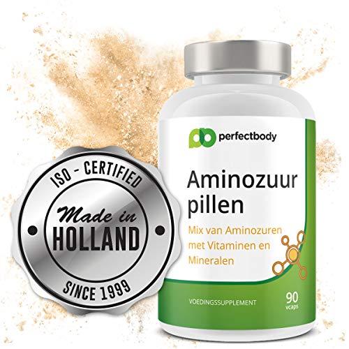 Aminozuur Pillen [90 Vcaps] PerfectBody.nl