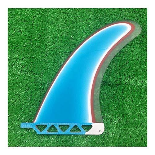 YEZIB Surf & Sup Fin, Colorido Paddle Fin Tabla de Surf de Longboard Individual Racing Fin Fin for el Surf para Longboard, Tabla de Surf y Paddleboard. (Color : 9 Inch)