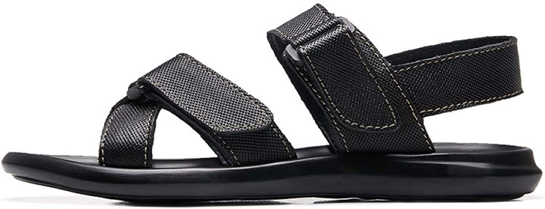 TDPYT Mens Sandals Summer shoes Male Leather Sandals Breathable Man'S shoes