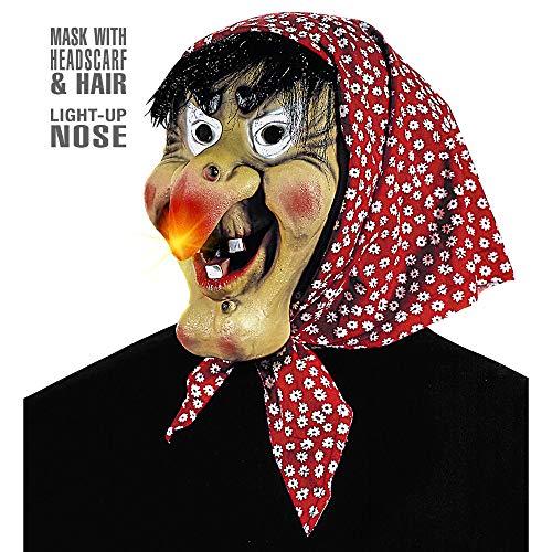 Widmann - Maschera da Befana con Naso Luminoso