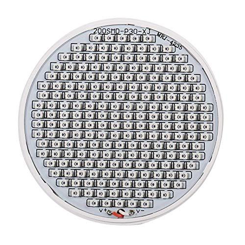 LED-Wachstumslampe, 24 W, E27, leistungsstarkes Panel, Vollspektrum, 200 LEDs, Gewächshaus, Hydrokultur, Gemüse, Topfblume, Pflanzen-Glühbirne, 85 ~ 265 V