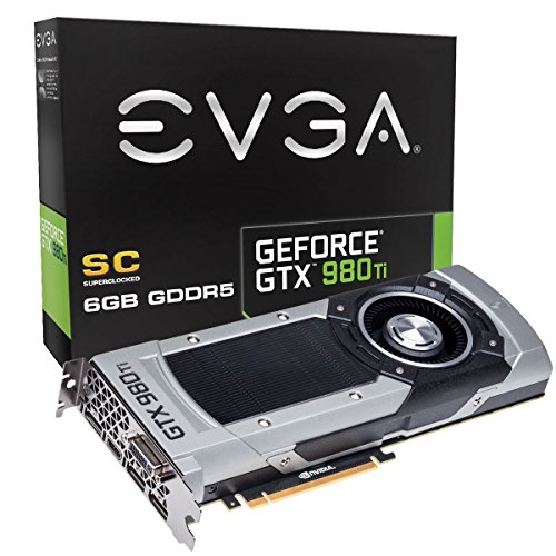 EVGA GeForce GTX 980 Ti Superclocked Reference, 6GB DDR5