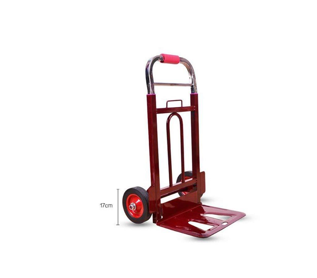 Carrito de compras Furgoneta portátil plegable Tire del camión Remolque grande Carro pequeño Equipaje Carro (Tamaño: 20 cm) Escalera de la carretilla para uso general escalad (tamaño : 17CM) : Amazon.es: