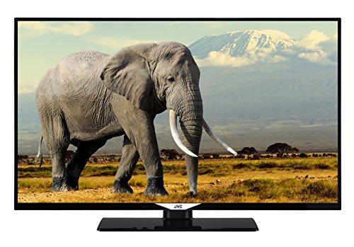 JVC LT-43V55LU 109 cm (43 Zoll) Fernseher (4K Ultra HD, HDR 10, Triple Tuner, Smart TV)
