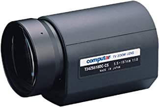 "Computar H30Z1015AMS 1/2"" 10-300mm (30X) F1.5 Motorized Zoom & Focus w/ Video Auto-Iris C-Mount Lens, Spot Filter"