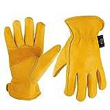 LONGLONGJINGXIAO Lederarbeitshandschuhe - verschleißfeste Gartenhandschuhe für den Gartenbau Lagerarbeitshandschuhe Motorrad - männlich/weiblich (größe : XXL)