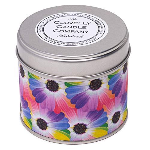 Clovelly Soap Co. Bougie Artisanale - Végane et Naturelle - Parfum Patchouli - Cire de Soja