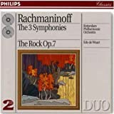 Symphonies 1 To 3/The Rock [European Import] by Sergey Rachmaninov (1994-01-05)