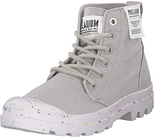 Palladium Damen Hi Organic W Hohe Sneaker, Grau (Ash S30), 40 EU