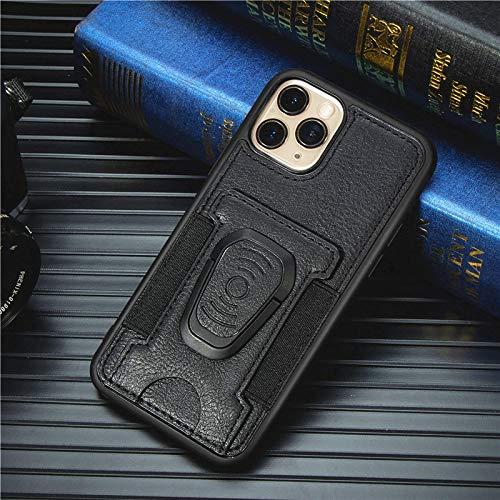 RZL Teléfono móvil Fundas para iPhone 12/12 Pro/Pro 12 MAX 12 Mini, Manera de Lujo del teléfono de Prueba de Golpes del Dedo anular de la Caja del teléfono para el iPhone 11 Pro MAX