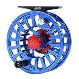 MAXIMUMCATCH Avid Serie Wert Fliegenfischen Rolle-1/3, 3/4, 5/6, 7/8, 9/10wt, 5 Farbe auszuwählen (Blau, 5/6wt)