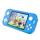 CredevZone Handheld Game Console 3.5inch Mini Retro Gaming Player 700 Classic Games Preinstalled Rechargeable Game Consoles Box for Kids Boys Chirldren (Turquoise)