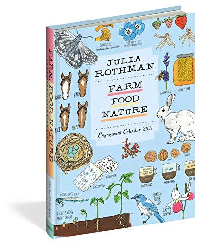 Julia Rothman: Farm, Food, Nature Engagement Calendar 2021