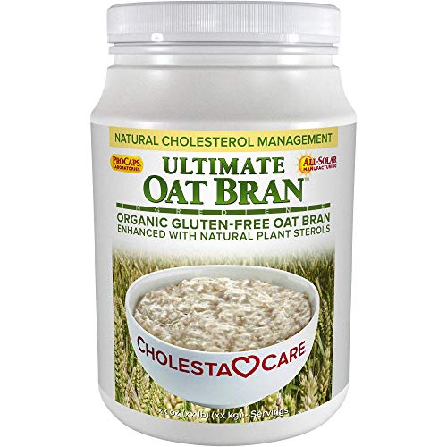 Andrew Lessman Ultimate Oat Bran 60 Servings - Premium Organic, Gluten-Free Oat Bran, Heart-Healthy Fiber and Non-GMO Sourced Phytosterols. Promotes Healthy Cholesterol Levels. No Additives