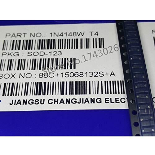 Original 500 stücke 1206 1N4148W T4 1N4148 SOD-123 4148 Watt Schaltdiode IC