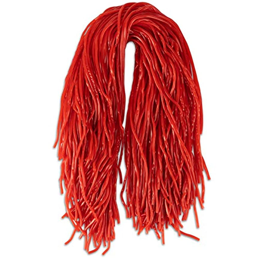 Strawberry Extra Long Red Licorice Shoestring Laces 32 Oz