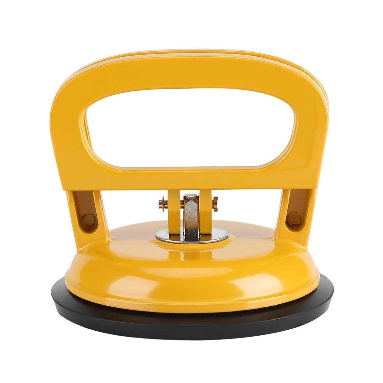 SALEARZA アルミニウム合金製 デントリペアピラーパッド 真空リフター 車凹み修理工具 吸盤 車修理 強力 作業 荷物運搬 ワンタッチ吸盤式 汎用 引き出し作業車 凹み 吸盤 ミニ吸盤