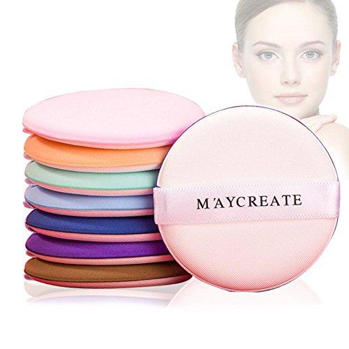 Bulary 7 PCS Air Coussin Maquillage Puff Poudre Puffs pour Fond de teint Éponge Maquillage Doux Puff Pads BB Crème Concealer Maquillage Coton Maquillage Outil