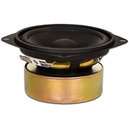 GM-85//8 Goldwood Sound 120 Watt 8ohm Poly Mica 5 Speaker Midrange Black