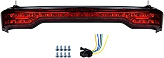 LED Brake/Turn/Tail Lamp Light Kit Compatible with Harley King Tour Pack 2014-2019 (Red Lens)