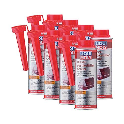8 x Additif Liqui Moly 5148 Produit de protection pour filtre à particules Diesel DPF 250 ml