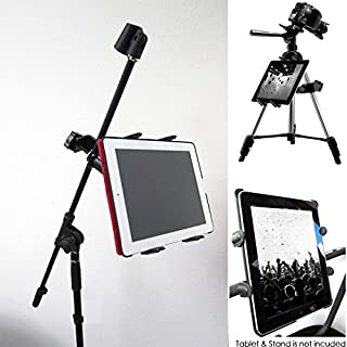 ChargerCity Music Mic Microphone Stand Tablet Mount with 360° Swivel Adjust Holder for Apple iPad Pro Air Mini Google ...