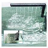 XIAOFANG Sumergible Filtro de Agua Bomba de Agua Aquarium Fish Tank Pond Oxygen Aumentando Herramienta de Bomba Acuario Acuario Accesorios (Color : Black, Size : Ap 600L)