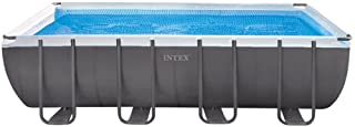 Intex Ultra Frame Piscina Desmontable, 17.203 litros, Gris, 549 x 274 x 132 cm