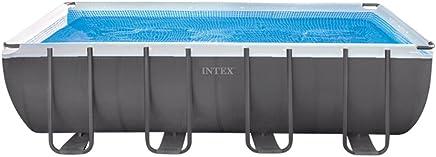 Intex 26352NP - Piscina desmontable Ultra Frame 549 x 274 x 132 cm, 17.203 litros