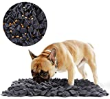 "Tamu style Dog Snuffle Mat for Feeding, Hunting, Foraging (12½"" x 18½"") Playful Food and Treat Surface & Small, Medium, Large Breed Pets & Durable, Reusable, Machine Washable"